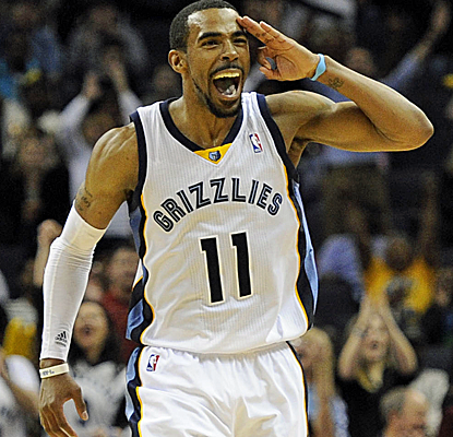 Mike Conley chips in with 22 points, and the Grizzlies rally past the Cavs for a fifth straight home win.  (USATSI)