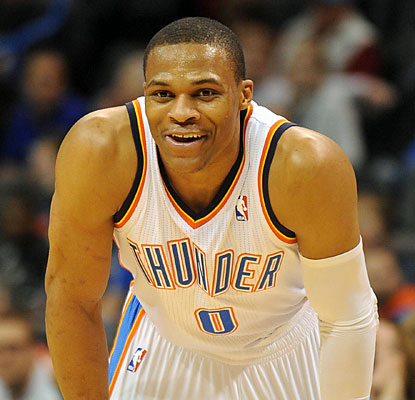 Russell Westbrook is extremely efficient against the Bobcats, shooting 10 of 12 from the field for 26 points. (USATSI)