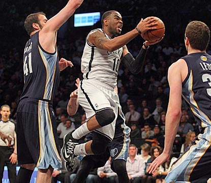 Newly acquired Marcus Thornton gives Brooklyn a spark off the bench with 20 points on 8-of-13 shooting.  (USATSI)