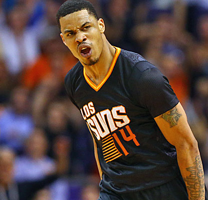 Gerald Green's breakout year continues with a 41-point effort as the Suns rally from 16 down to beat the Thunder.  (USATSI)