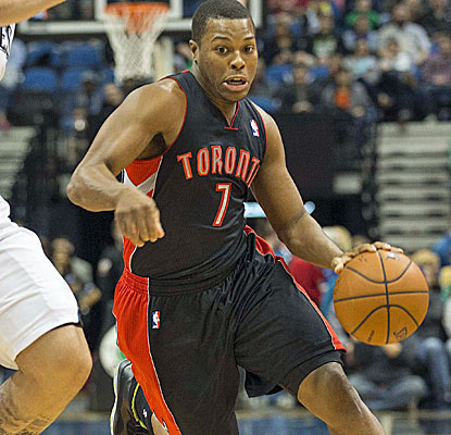 Kyle Lowry records his fourth career triple-double, and the Raptors have now won nine of 11.  (USATSI)