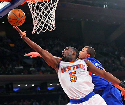 Knicks rookie Tim Hardaway Jr. comes off the bench and scores a game-high 28 points on 9-of-13 shooting. (USATSI)