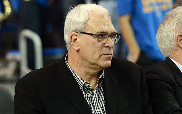 Phil Jackson is in charge in New York, but not 100 percent invested. (USATSI)