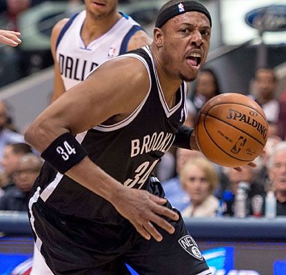 Paul Pierce and the Nets keep their winning streak (four) alive. Brooklyn also makes it 11 victories in the past 13 tries. (USATSI)