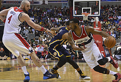 John Wall and the Wizards avenge two of their biggest losses of the season against a sloppy Pacers team. (USATSI)