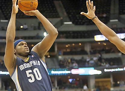Zach Randolph provides 20 points and 11 rebounds in the win, which puts Memphis in a three-way tie for seventh place. (USATSI)