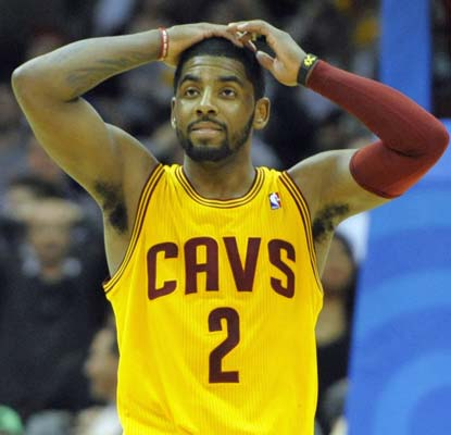 Kyrie Irving nets a career-high 44 points, but the Cavaliers can't quite get by the Bobcats in overtime.  (USATSI)