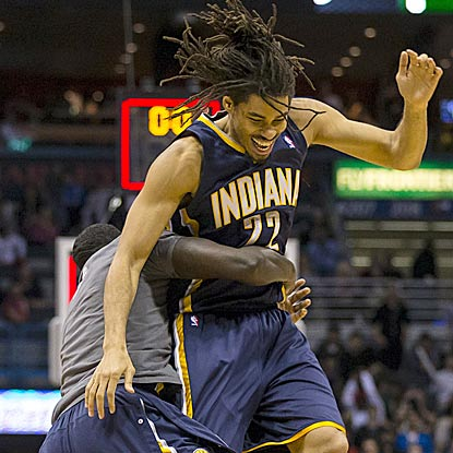 Who will have made the most important basket in Indiana's season? Perhaps Chris Copeland, and who would have guessed that? (USATSI)