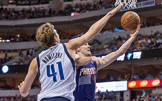 Dirk Nowitzki has the Dallas Mavericks back in the playoffs. (USATSI)