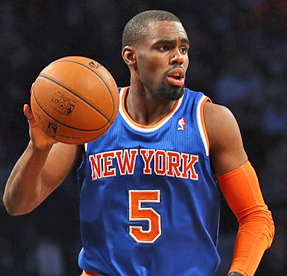 Tim Hardaway Jr. (16 points) is one of six Knicks to reach double figures against the Nets, who fail to clinch the fifth seed. (USATSI)