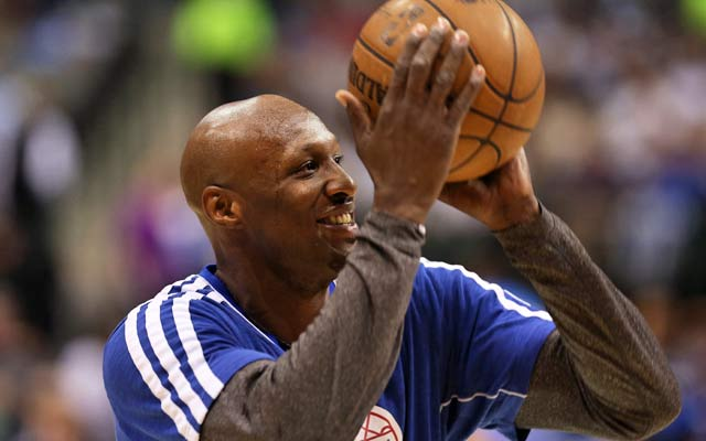 Will Lamar Odom be donning a Knicks jersey next season? (USATSI)