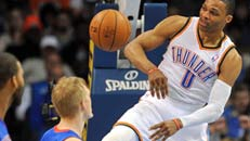 Thunder clinch 2 seed