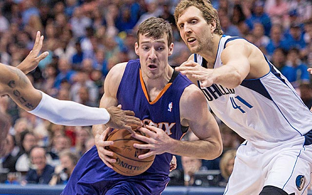 Goran Dragic shot a career-high 51 percent from the field for the surprising Suns.   (USATSI)