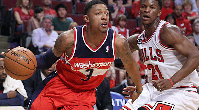 Wizards surge past Bulls for 1-0 series lead