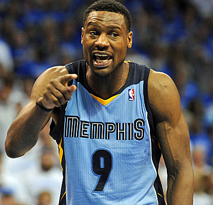 Tony Allen, as usual, makes big plays on the defensive end while also adding eight points and eight rebounds.  (USATSI)