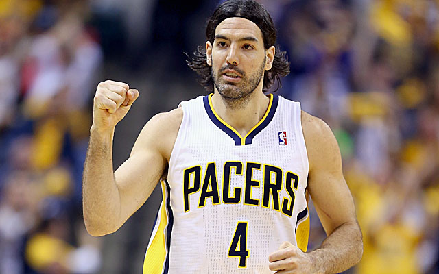 Luis Scola helps soothe the Pacers' pain with 20 points in a win over Atlanta. (Getty)