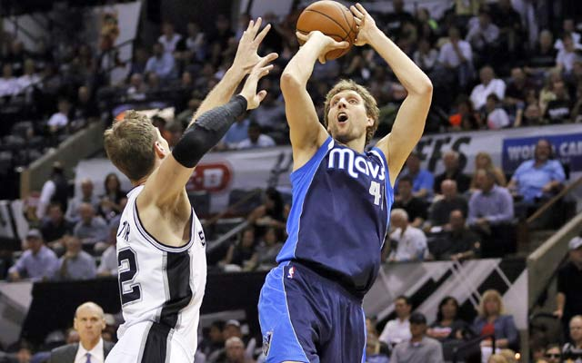 Dirk Nowitzki and the Mavs could easily be up 2-0 in this series. (USATSI)