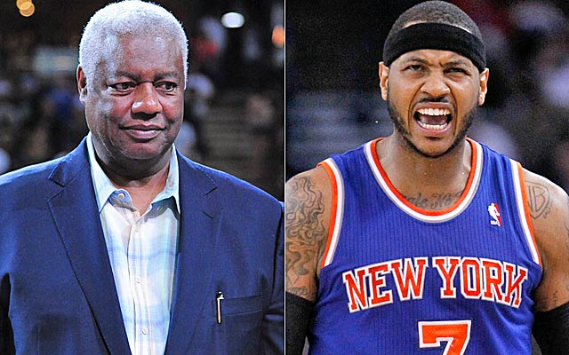 Oscar Robertson tells Spike Lee that Melo should get out of New York -- and quick.    (USATSI)