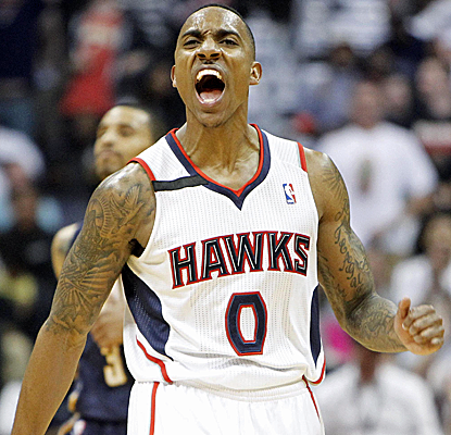 Jeff Teague is great again, scoring 22 points to help lift the Hawks to a home win a 2-1 series lead over Indiana.  (USATSI)