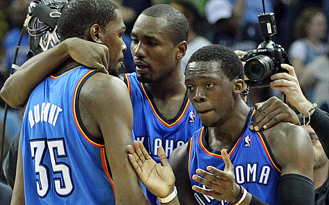 Will Reggie Jackson stay with the Thunder long-term?  (USATSI)