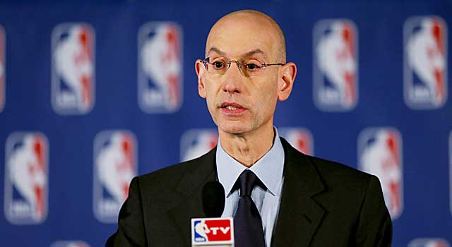 Commissioner Adam Silver bans Donald Sterling from all NBA functions. (Getty Images)