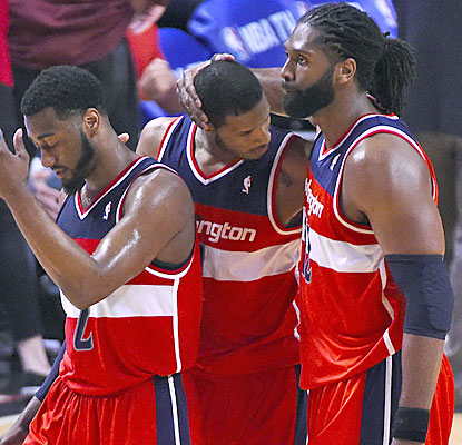 The Wizards take care of the Bulls to advance in the playoffs for just the third time since the 70s. (USATSI)