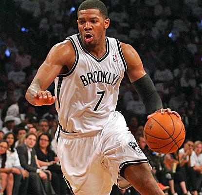 Joe Johnson posts 17 points to help lift the Nets past the Raptors and into Game 7 on Sunday.  (USATSI)