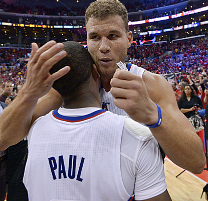Blake Griffin and Chris Paul combine for 46 points, making huge plays late as the Clippers advance. (USATSI)