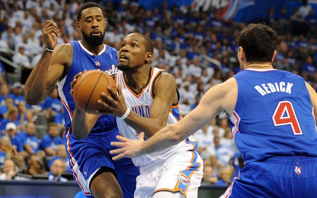 Kevin Durant and the Thunder refused to lose in Game 2. (USATSI)