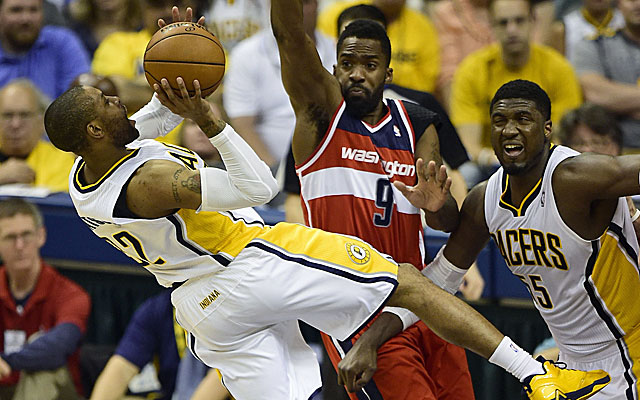 CJ Watson and Pacers did not give their best effort against the Wizards in Game 5. (USATSI)