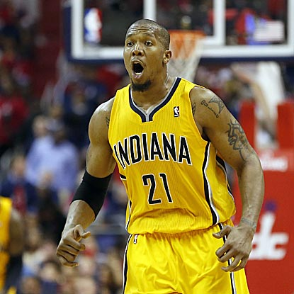 David West scores a game-high 29 points in Game 6 to help the Pacers earn a return trip to the Eastern Conference Finals.  (USATSI)