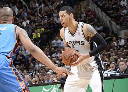 Danny Green (21 points) is lethal from beyond the arc, converting seven of 10 shots from downtown. (Getty Images)