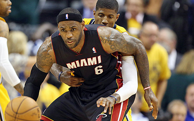 Paul George and LeBron James both have big stories around them entering Game 3. (USATSI)