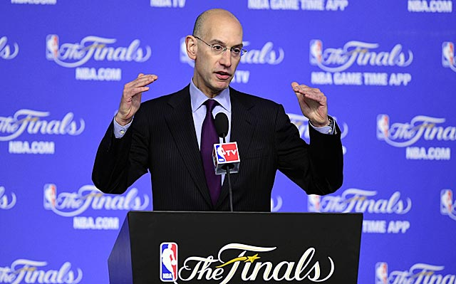 Adam Silver acknowledges the NBA's repsonse to the AC failure 'wasn't handled perfectly.'