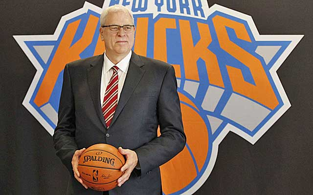Phil Jackson finally has his man to coach the Knicks.    (USATSI)