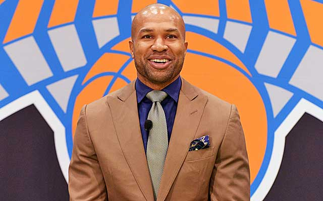 Derek Fisher gets a sweet deal to coach the Knicks.    (USATSI)