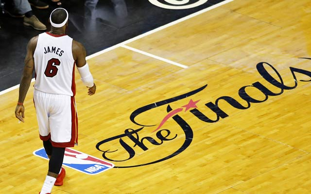 LeBron James and the Heat aren't used to being dominated quite like this. (USATSI)