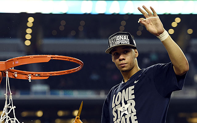 Could Shabazz Napier's next stop be South Beach? If the Heat get lucky.  (USATSI)