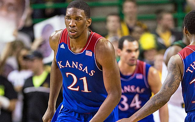 Don't expect Joel Embiid to get past the Kings at 8, if he even drops that far. (USATSI)