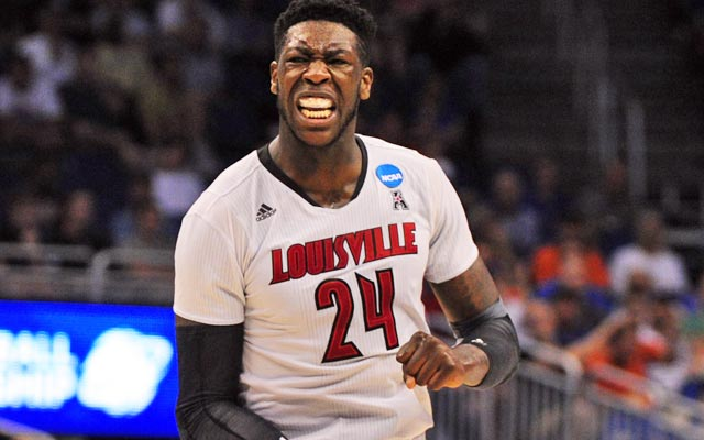Montrezl Harrell stunned many when he decided to return to Louisville. (USATSI)
