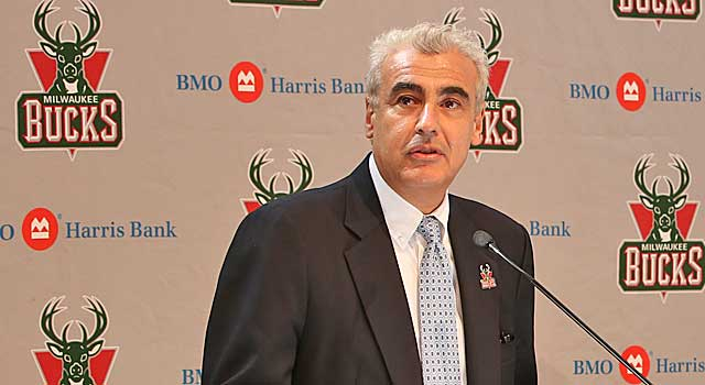 Marc Larsy has a busy week as the billionaire owner of the Bucks. (Getty Images)