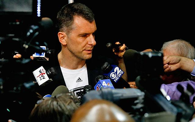It's a good thing Mikhail Prokhorov has billions of dollars. (USATSI)