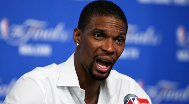 Heat keep Chris Bosh for 5 years, $118M