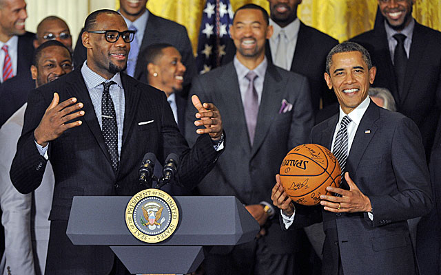 LeBron James could impact who wins the White House in 2016. No, seriously. (USATSI)