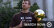Matt Bonner' cupcakes (screen grab)