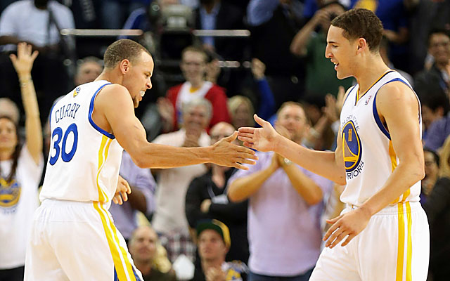 Curry is confident his Warriors won't be making changes. 'We were a great team last year.' (USATSI)