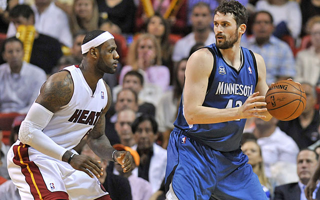 LeBron James' move back to Cleveland makes the Cavaliers attractive for the likes of Kevin Love. (USATSI)