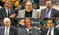 NBA Coaching Rankings