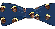 Zach Randolph bowtie (screen shot)