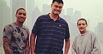 Yao Ming and Co. (screen shot)